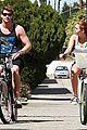 miley cyrus liam hemsworth biking 02