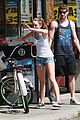 miley cyrus liam hemsworth biking 07