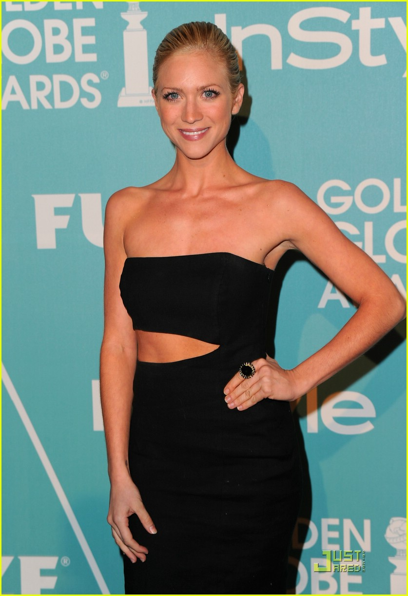 brittany snow golden globe party 04