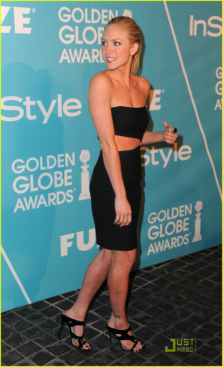 brittany snow golden globe party 08