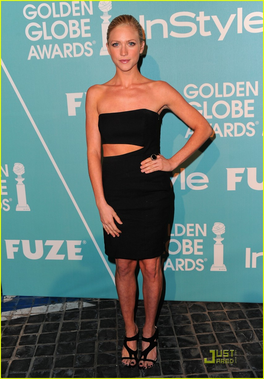 brittany snow golden globe party 10