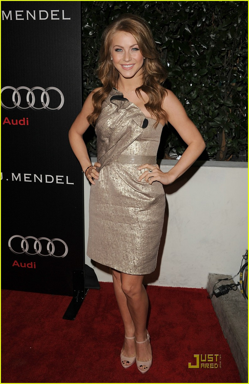 Full Sized Photo Of Julianne Hough Audi Party 08