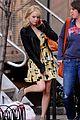 emma stone yellow dress amazing spider man set 02