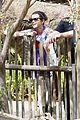 selena gomez zoo monkey 01