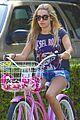 ashley tisdale bike ride 03
