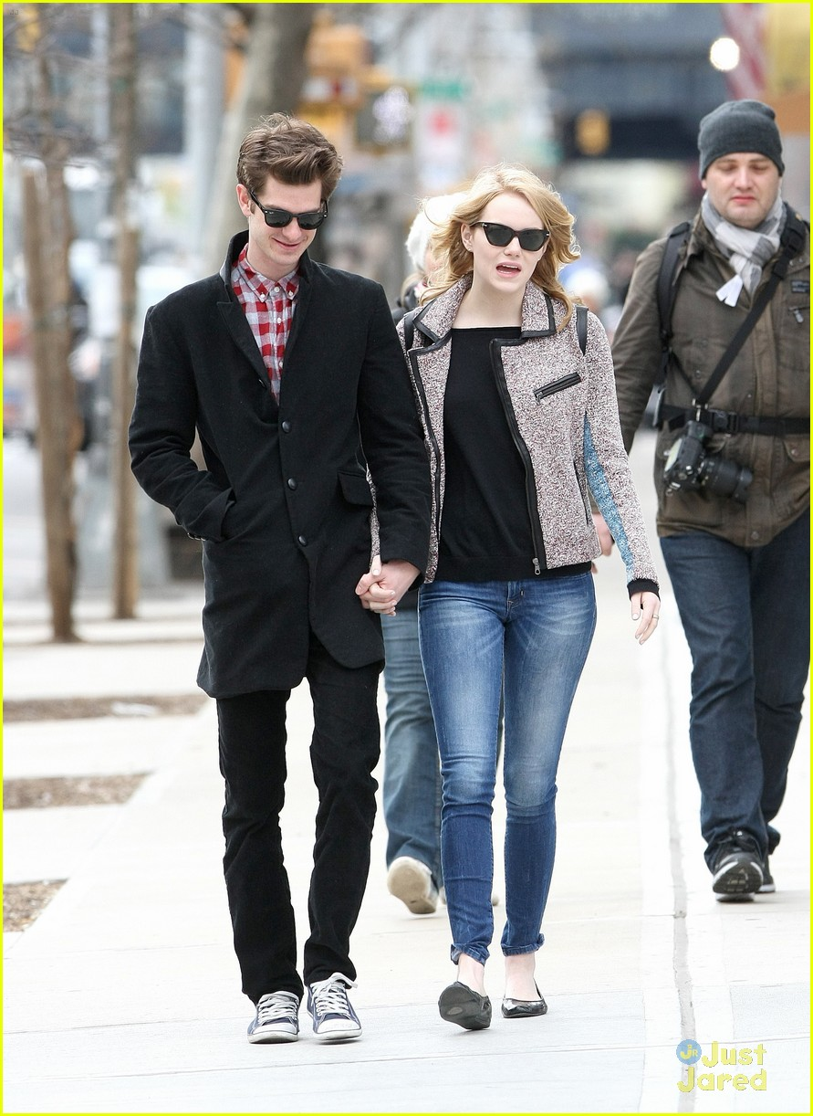 emma stone andrew garfield kids attendees 01