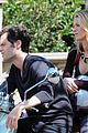 blake lively penn badgley vespa 01