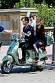 blake lively penn badgley vespa 17