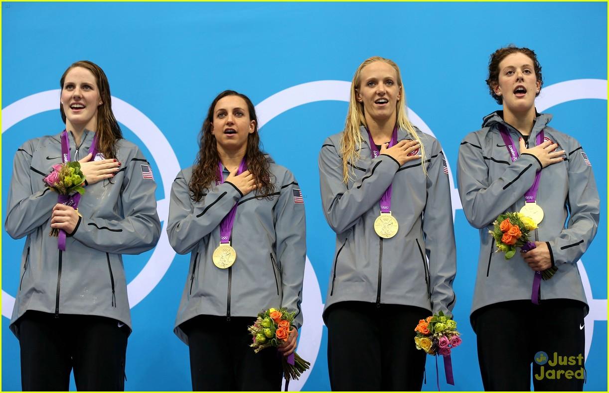 missy franklin olympics relay record 08