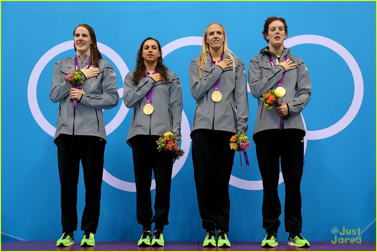 missy franklin olympics relay record 13