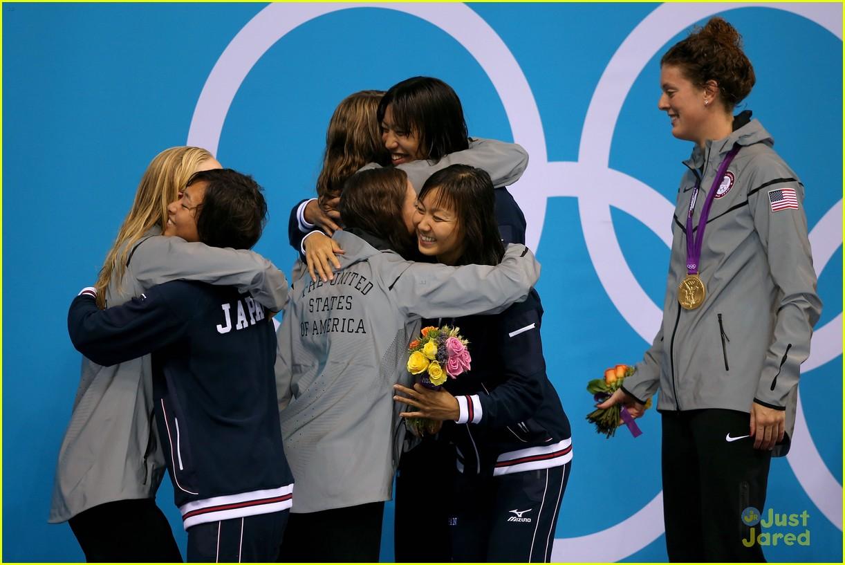 missy franklin olympics relay record 16