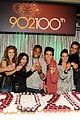 90210 cast celebrate 100 episode 13