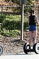 kylie jenner segway ride 06