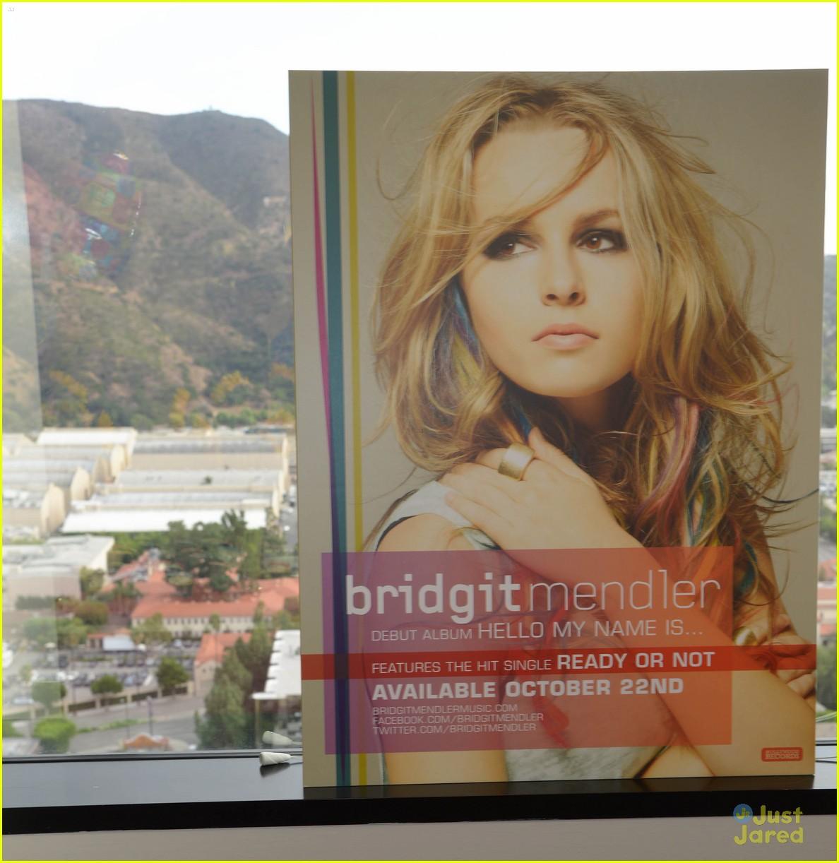 Full Sized Photo Of Bridgit Mendler Album Stream 08 Bridgit Mendler Hello My Name Is Listen Now Just Jared Jr
