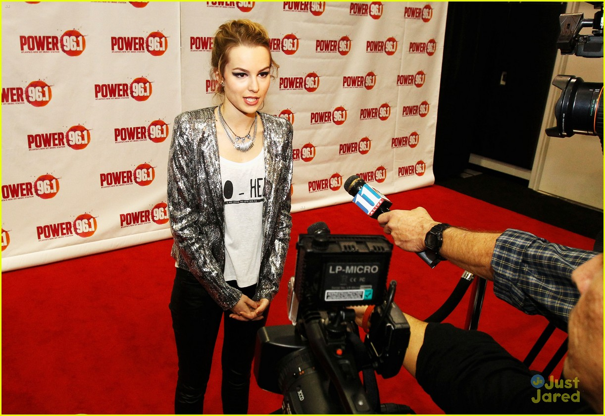 bridgit mendler power 961 jingle ball 12