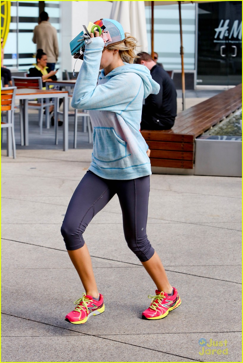 ashley tisdale gym meeting 12