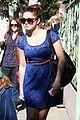 ariel winter blue lace dress 03