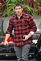 nick jonas plaid meetings 07