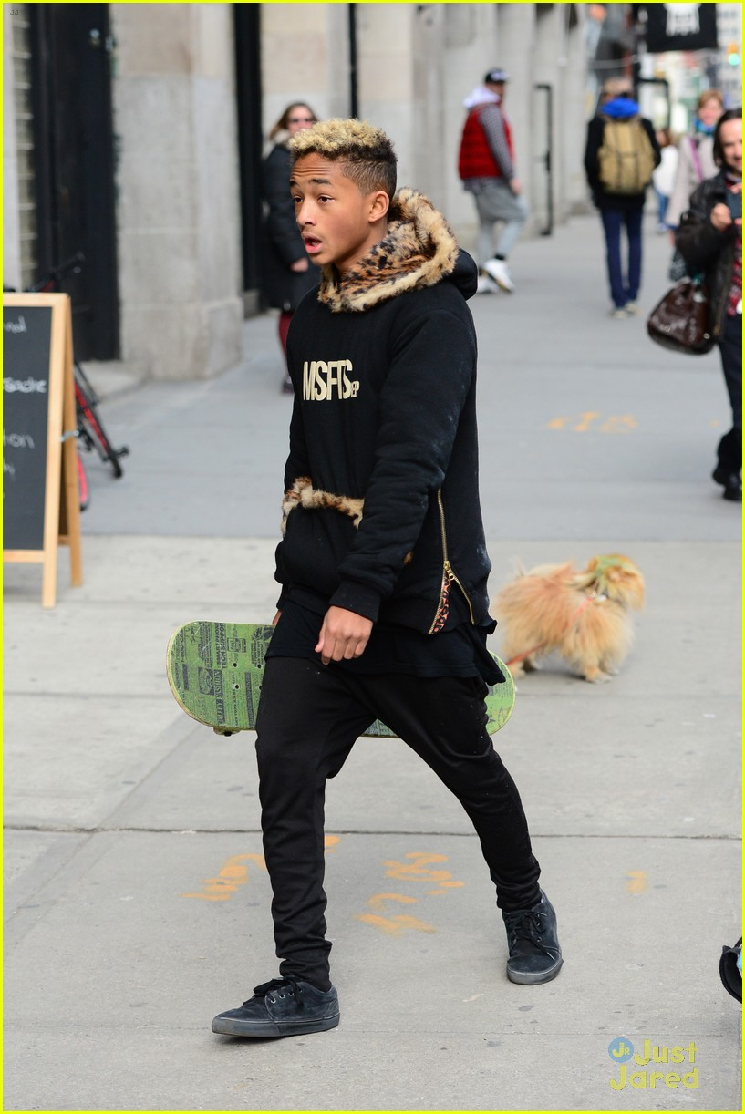 jaden willow smith nyc music video shoot 05