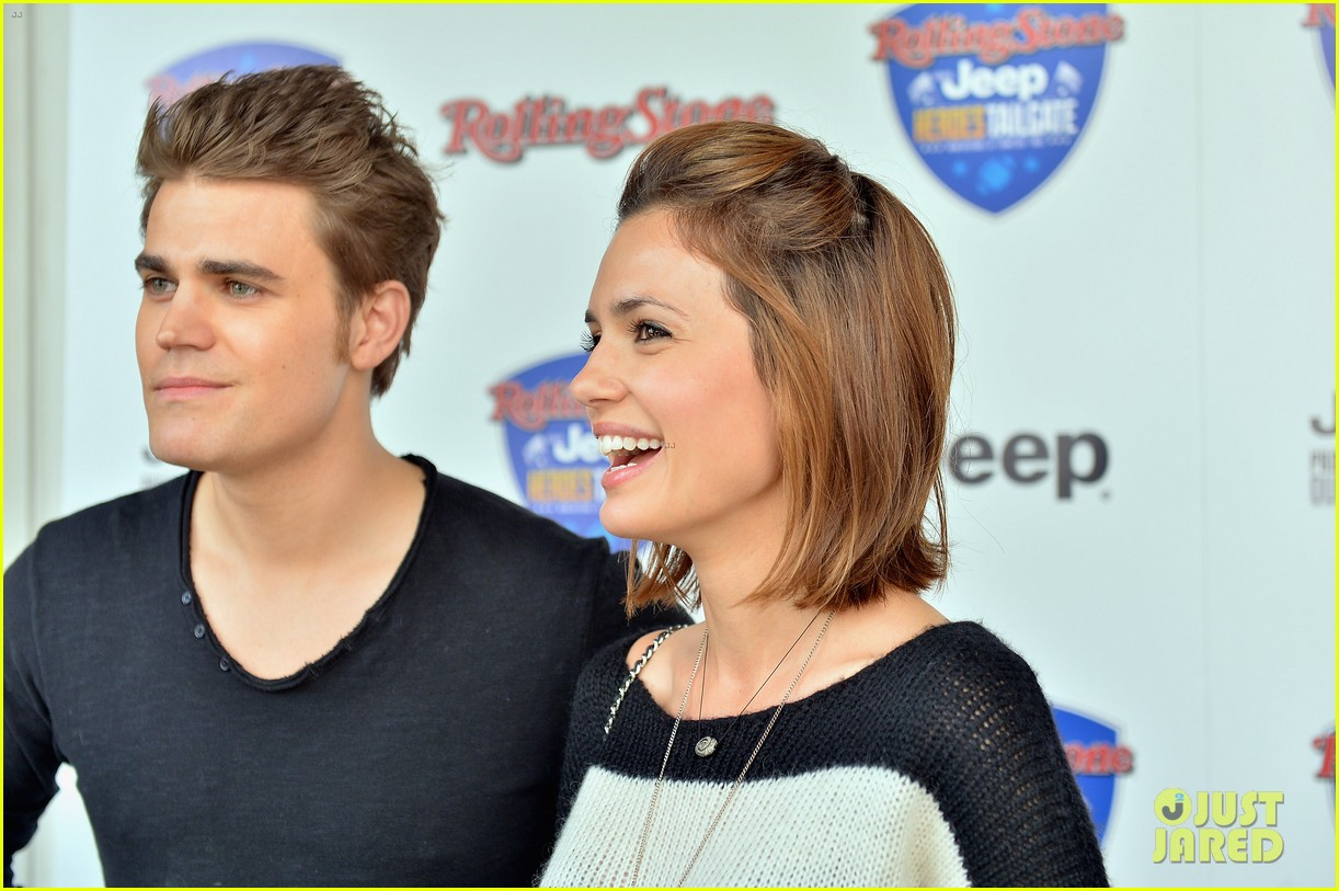 paul wesley torrey devitto tailgating party 08