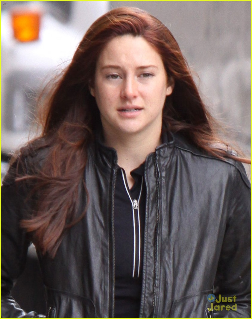 Shailene Woodley Red Hair Young