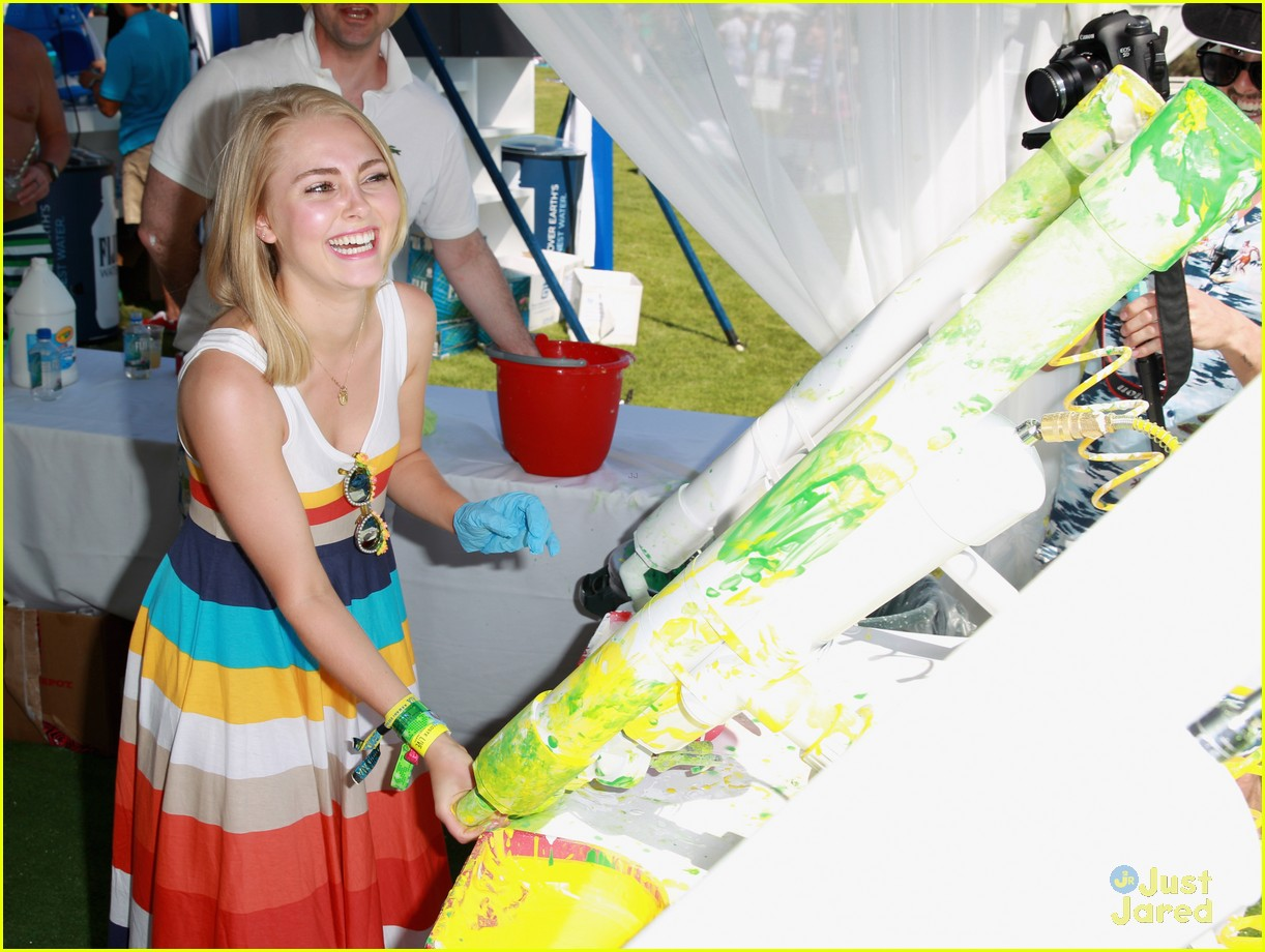 annasophia robb lacoste coachella party 10