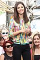 victoria justice extra appearance at the grove 14