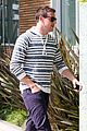 lea michele grocery shopping cory monteith steps out solo 19