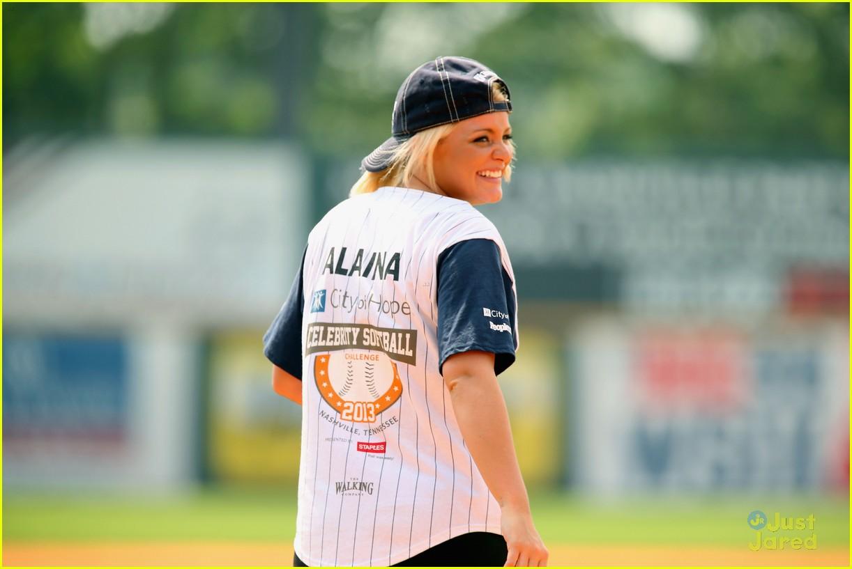 lauren alaina city hope softball game 22