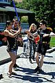 chris colfer course of the force relay 20