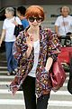 carly rae jepsen airport arrival 03