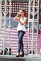 ariana grande austin mahone vma pre show soundcheck 10