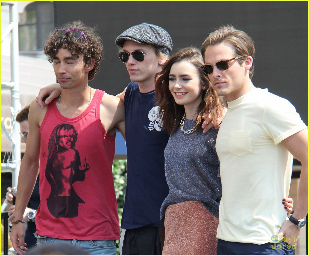 Lily collins jamie campbell bower mortal instruments meet lily collins jamie campbell bower mortal instruments meet greet photo 587618 photo gallery just jared jr kristyandbryce Image collections