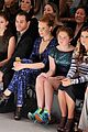 candice accola front row nanette lapore fashion show 01