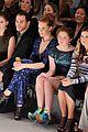 candice accola front row nanette lapore fashion show 01