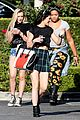 kendall kylie jenner separate lunch outings 11