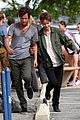 penn badgley dakota johnson cymbeline action scenes 23
