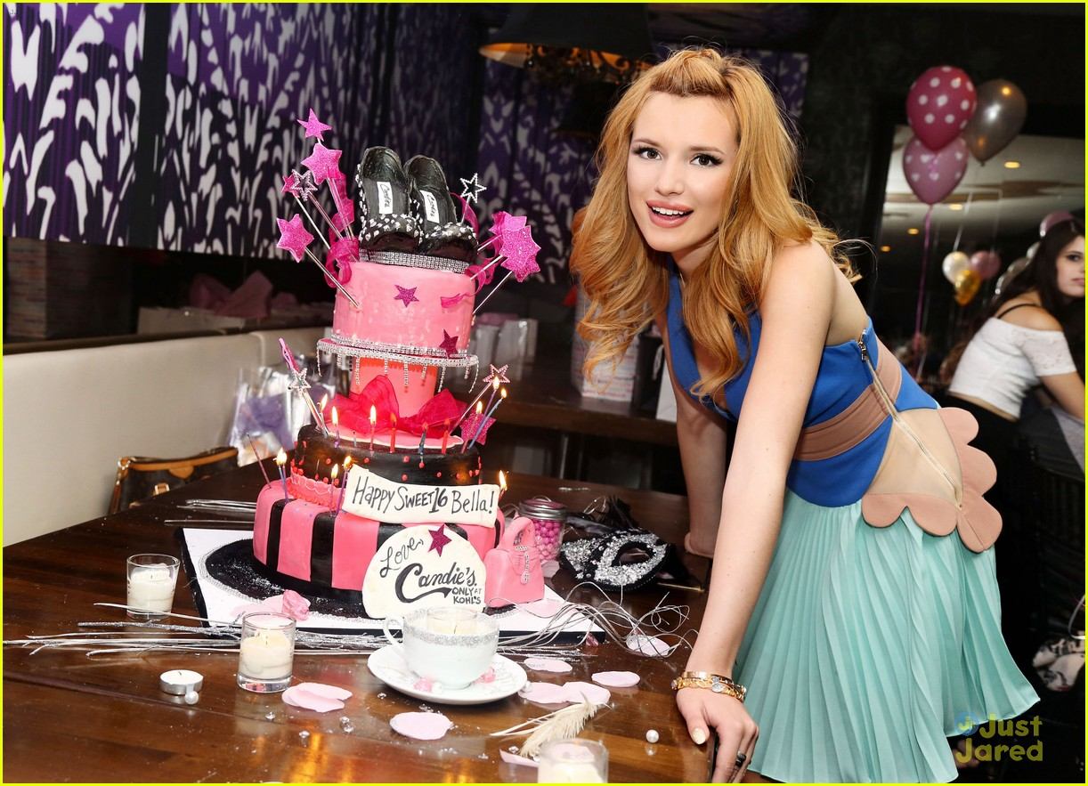 bella thorne sweet 16 birthday party pics photo 606256 photo