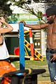 jason derulo shirtless bondi beach workout 22