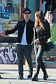 joe jonas blanda eggenschwiler sidewalk smooches 09