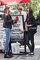 ashley madekwe cara santana lunch date 14
