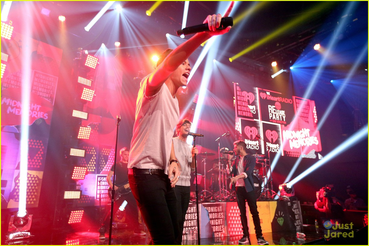 Full Sized Photo of one direction album release party 14