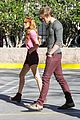 bella thorne tristan klier la mission eve dinner 01