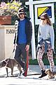 leighton meester adam brody dog walk 06