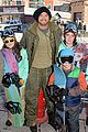 kellan lutz learns to snowboard at sundance 17