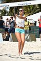gigi hadid si beach volleyball tournament 01