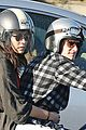 josh hutcherson motorcycle spin with mystery gal 05
