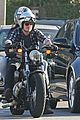josh hutcherson motorcycle spin with mystery gal 11