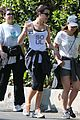 lea michele hike before kcas 03