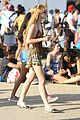 bella thorne closes out coachella shirtless tristan klier 09